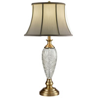 Dale Tiffany SGT16153 Brewars 31 inch 150 watt Antique Brass Table Lamp Portable Light