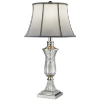 Dale Tiffany SGT16161 Dagmar 29 inch 150 watt Polished Chrome Table Lamp Portable Light