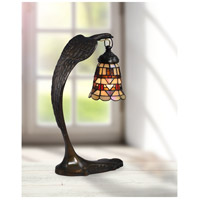 Dale Tiffany STA17001 Falcon Bronze 18 inch 40 watt Antique Brass Accent Lamp Portable Light STA17001_2.jpg thumb