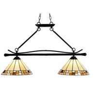 Sundance LED 36 inch Tiffany Bronze Island Fixture Ceiling Light