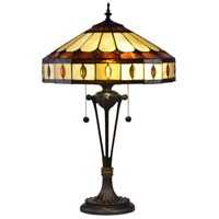 Julio 26 inch 60 watt Antique Bronze Table Lamp Portable Light