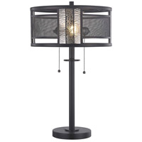 Dale Tiffany STT17023 Griffin 23 inch 75 watt Dark Antique Bronze Table Lamp Portable Light