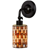 Calico LED 5 inch Antique Bronze Wall Sconce Wall Light