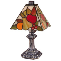 Dale Tiffany Fruit Mini Table Lamp 1 Light in Antique Brass TA100122