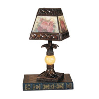 Dale Tiffany Hadden Mini Lamp 1 Light in Antique Golden Sand TA100711