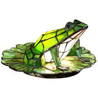 Dale Tiffany TA101231 Frog Lilypad 8 inch 15 watt Accent Lamp Portable Light