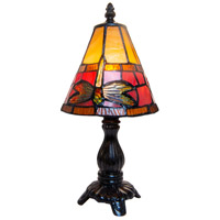 Dale Tiffany Cavan Tiffany 1 Light Accent Lamp in Fieldstone TA13005