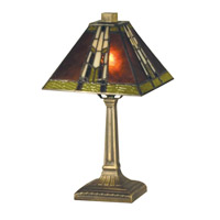Charwood 14 inch 60 watt Antique Bronze Accent Lamp Portable Light