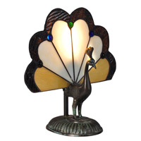 Dale Tiffany TA14235 Alexander 10 inch 60 watt Antique Bronze/Verde Table Lamp Portable Light