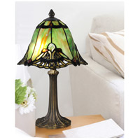 Dale Tiffany TA15057 Evelyn 16 inch 60.00 watt Antique Brass Table Lamp Portable Light alternative photo thumbnail