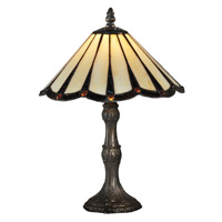 Ripley 14 inch 60 watt Antique Bronze Table Lamp Portable Light
