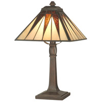 Dale Tiffany Cooper Accent Lamp 1 Light in Antique Bronze Plating TA70680