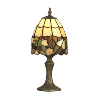 Dale Tiffany Tiffany Grape Accent Lamp 1 Light in Antique Brass TA70709