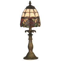 Dale Tiffany TA70711 Enid 16 inch 25 watt Antique Brass Accent Lamp Portable Light thumb