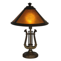 Dale Tiffany Freeport Mica Accent 1 Light in Antique Bronze TA90190