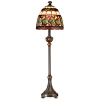 Aldridge 30 inch 60 watt Antique Bronze Buffet Lamp Portable Light