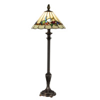 Dale Tiffany Lyndon 1 Light Buffet Lamp in Dark Antique Bronze TB13086