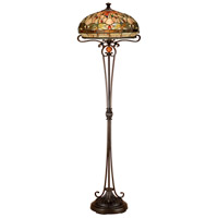 Dale Tiffany Briar 2 Light Floor Lamp in Antique Bronze TF13066