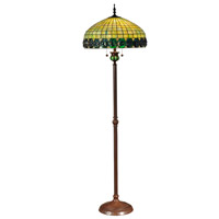Neon 66 inch 60 watt Antique Bronze Floor Lamp Portable Light
