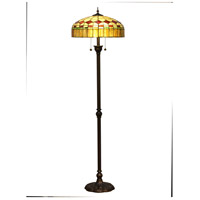 Stewart Island 64 inch 75 watt Antique Bronze Torchiere Floor Lamp Portable Light