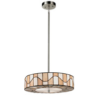 Dale Tiffany Sandfield 2 Light Pendant in Dark Bronze TH13011