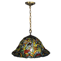 Leia 1 Light 16 inch Tiffany Bronze Pendant Ceiling Light
