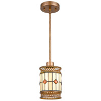 Dale Tiffany TH17020 Minerals 1 Light 5 inch Rustic Bronze Mini Pendant Ceiling Light