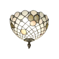 Dale Tiffany Newport Wall Sconce 1 Light TH70107 photo thumbnail