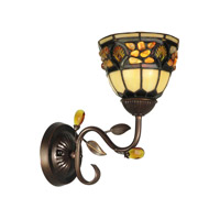 Dale Tiffany Pebblestone Wall Sconce 1 Light in Antique Golden Sand TH90231