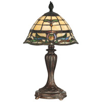 Dale Tiffany Tiffany Table Lamp 1 Light in Fieldstone TT10087 photo thumbnail