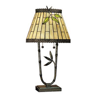 Dale Tiffany Bamford 2 Light Table Lamp in Dark Antique Bronze TT101004