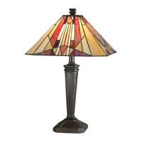Dale Tiffany Frediano Table Lamp 1 Light in Mica Bronze TT10823
