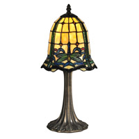 Dale Tiffany Cabrini 1 Light Table Lamp in Antique Brass TT12231
