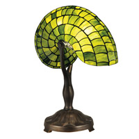 Dale Tiffany Signature 1 Light Table Lamp in Antique Bronze TT13116