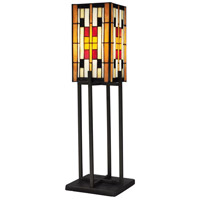 Isle of Eden 29 inch 60 watt Dark Bronze Table Lamp Portable Light