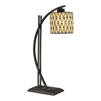 Signature 27 inch 60 watt Dark Bronze Table Lamp Portable Light