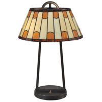 Wedgewood 21 inch 60 watt Dark Bronze Table Lamp Portable Light
