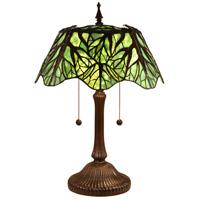 Dale Tiffany TT15176 Penelope 24 inch 75 watt Antique Bronze Table Lamp Portable Light