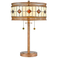 Dale Tiffany TT17113 Minerals 23 inch 75 watt Rustic Bronze Table Lamp Portable Light