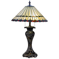 Dale Tiffany TT17117 Trenton 29 inch 60 watt Fieldstone Table Lamp Portable Light
