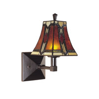 Dale Tiffany Kenelm Wall Sconce 1 Light in Mica Bronze TW100852