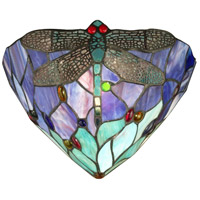 Dale Tiffany Dragonfly Jewel Wall Sconce 1 Light TW12062 photo thumbnail