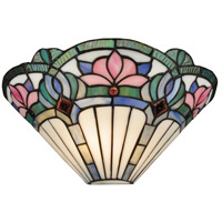 Dale Tiffany Windslow 1 Light Wall Sconce in White TW12148