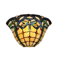 Dale Tiffany Cabrini 1 Light Wall Sconce in White TW12177