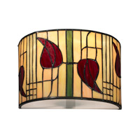 Dale Tiffany Macintosh 1 Light Wall Sconce in Dark Bronze TW12324