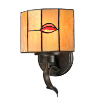 Dale Tiffany Fantom 1 Light Wall Sconce in Rustic Bronze TW12449