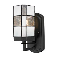 Dale Tiffany Landis 1 Light Wall Sconce in Matte Coffee Black TW13019