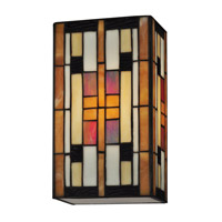 Dale Tiffany Isle of Eden 1 Light Wall Sconce in Dark Bronze TW13191
