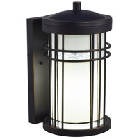 Dale Tiffany TW17026 Dijon 1 Light 14 inch Golden Black Outdoor Wall Sconce