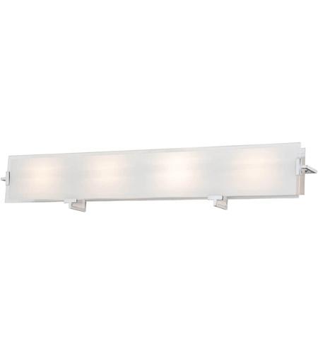 Zurich 4 Light 36 Inch Satin Nickel Vanity Light Wall Light